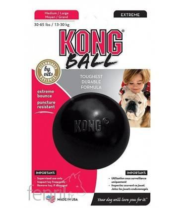 Balle rebondissante pour chien - Kong Extrême Ball
