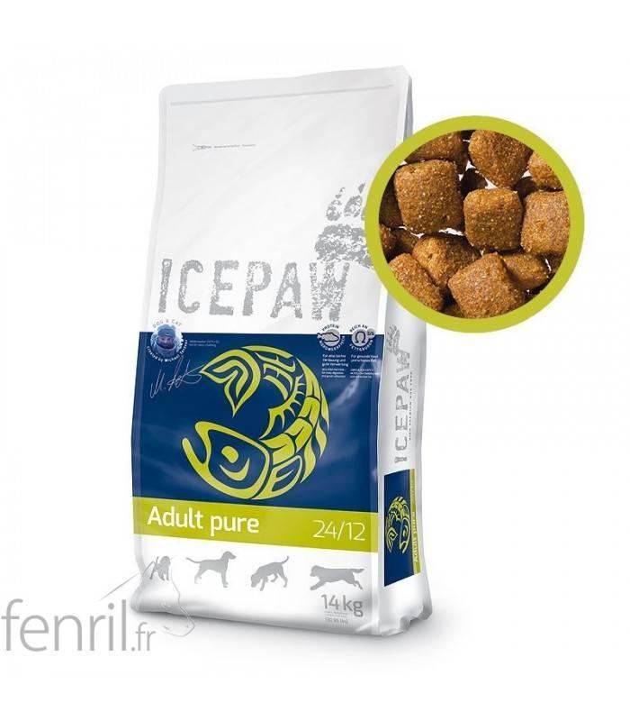adult pure icepaw croquettes pour chien sans gluten. Black Bedroom Furniture Sets. Home Design Ideas