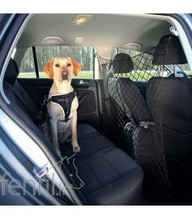 Filet pour chien en voiture