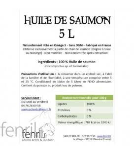 Huile de saumon 5L