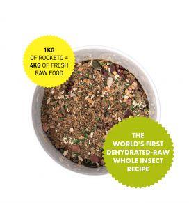 Rocketo Insectes entiers crus déshydratés