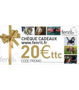 Chèque cadeau Fenril.fr