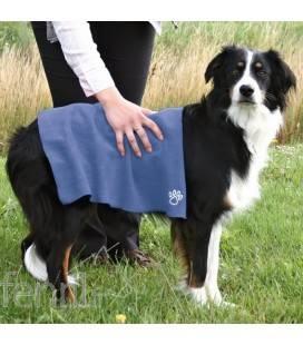 Serviette microfibre pour chien