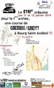 Canicross CaniVTT Bourg Saint Andéol 11 & 12 Janvier 2014